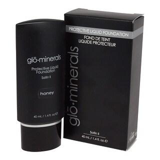 glominerals gloProtective Liquid Foundation Satin II: Honey