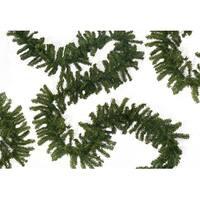 "50' x 14"" Commercial Length Balsam Pine Artificial Christmas Garland - Unlit - Green"