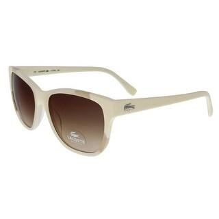Lacoste L775/S 105 White/Bone Wayfarer sunglasses Sunglasses