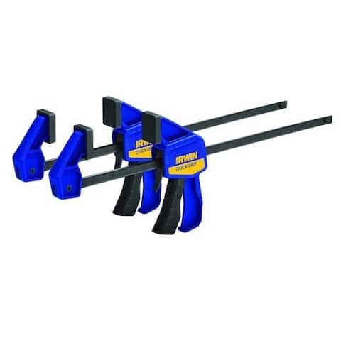 Irwin Quick-Grip 12 in. x 2-7/16 in. D Bar Clamp 100 lb. - 1.5 x 6.75 x 20