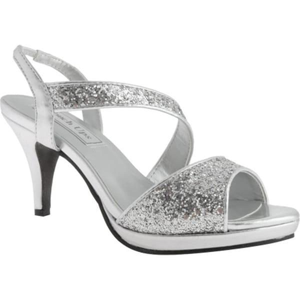Shop Touch Ups Women s Reagan Silver Glitter - Free Shipping Today ... e9a86125ae0e