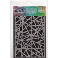 """Shattered - Dyan Reaveley's Dylusions Stencils 5""""X8"""""""