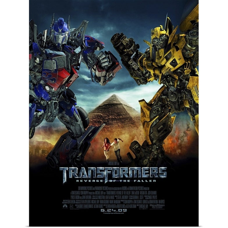 Shop Black Friday Deals On Transformers 2 Revenge Of The Fallen 2009 Poster Print Overstock 24130147