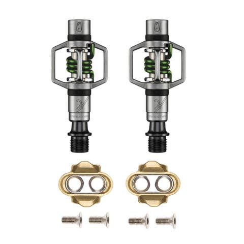 Crankbrothers Eggbeater 2 Bike Pedals (Green)