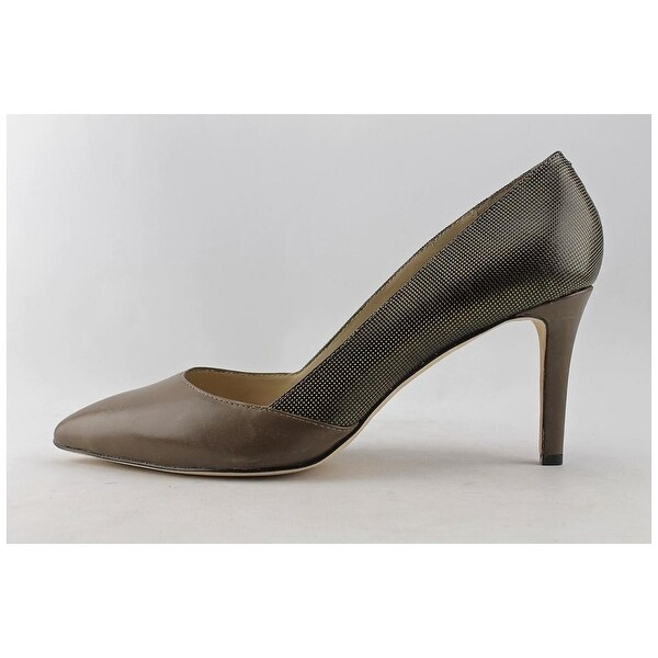 Carolinna Espinosa Womens Socialite Leather Pointed Toe Classic Pumps - 8.5