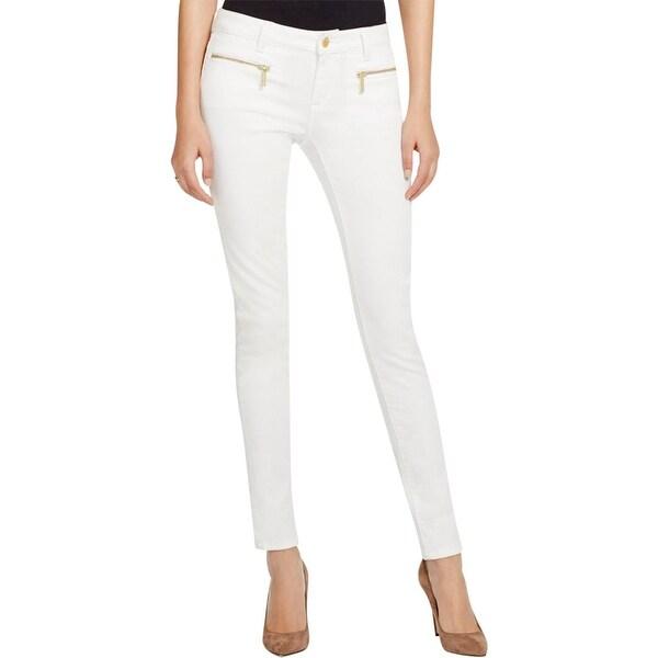 b068a4ebc7d2 Shop MICHAEL Michael Kors Womens Izzy Skinny Jeans Denim Mid-Rise ...