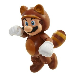 "Super Mario Bros 4"" Figures Wave 4 Tanooki Mario w/ Coin - multi"