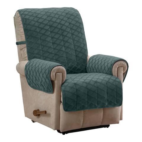 Fairmont Diamond Plush Recliner Furniture Cover