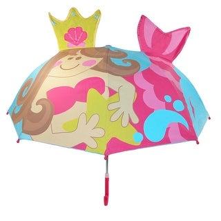 Stephen Joseph Kids' Mermaid Pop Up Umbrella - One size