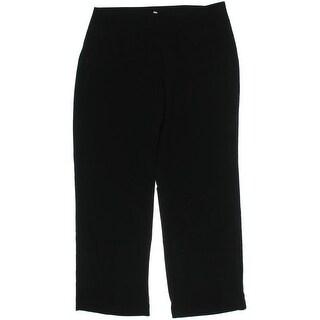Eileen Fisher Womens Tencel Flat Front Dress Pants - L