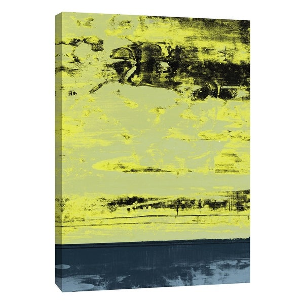 """PTM Images 9-108441 PTM Canvas Collection 10"""" x 8"""" - """"New Squeegeescape 5"""" Giclee Abstract Art Print on Canvas"""