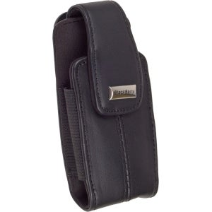 Blackberry Leather Swivel Holster for Blackberry 8100 Series (Dark Brown)