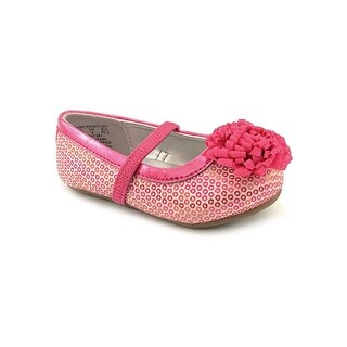 Stride Rite Baby Kenleigh Toddler Round Toe Canvas Pink Mary Janes