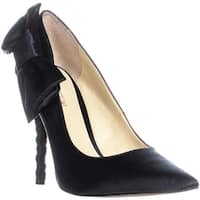 Enzo Angiolini Cyma Bow Tie Pumps, Black - 8.5 us