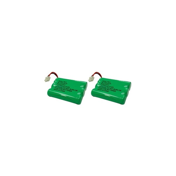 Replacement VTech i6763 / mi6821 NiMH Cordless Phone Battery - 600mAh / 3.6V (2 Pack)
