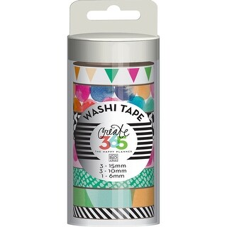 Watercolor - Create 365 Planner Washi Tape 7/Pkg