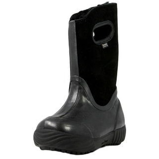 Bogs Boots Girls Kids Prairie Solid Insulated Waterproof Suede 71838