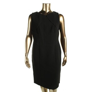BOSS Hugo Boss Womens Dysimina Wear to Work Dress Sleeveless V-Neck