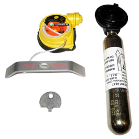 """3-Piece Gold and Yellow Re-Arm Kit for MD5283 9"""""""