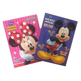 Mickey Big Fun Coloring Book