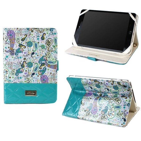 JAVOedge Quilted Paisley Folio Case for the Apple iPad Mini