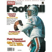 99bee0460 Dan Marino unsigned Miami Dolphins Athlon Sports 1999 NFL Pro Football  Preview Magazine