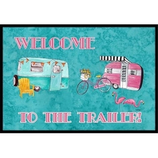 Carolines Treasures 8760JMAT Another Day In Paradise Indoor Or Outdoor Doormat 24 x 36 in.