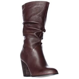 Carlos by Carlos Santana Howell Mid Calf Slouch Boots - Cognac