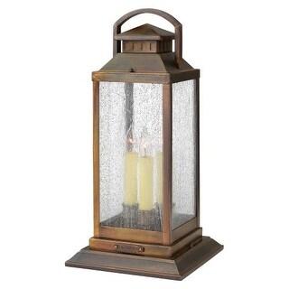 Hinkley Lighting 1187 3 Light Pier Mount Light from the Revere Collection