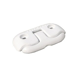 Dock Edge 38516M DOCK EDGE FLIP UP DOCK CLEAT 6 Inch WHITE