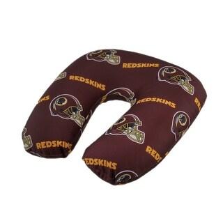 NFL Washington Redskins Beaded Travel Neck Pillow - wine