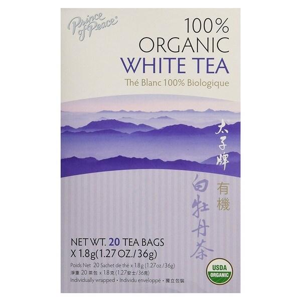Prince Of Peace Organic Premium White Tea 20 Bags