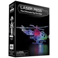 Laser Pegs Lighted 8-in-1 Construction Kit Helicopter - Multi