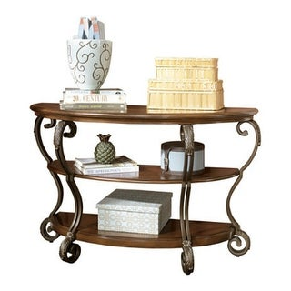 Nestor Medium Brown Sofa Table T517-4 Nestor Medium Brown Sofa Table