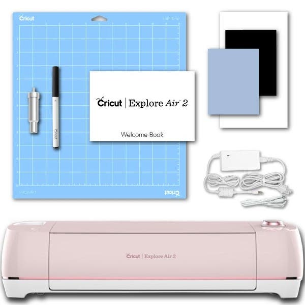 Cricut Explore Air 2 Cherry Blossom Machine Electronic Digital Vinyl Cutting
