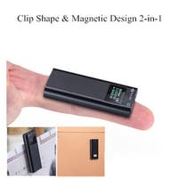 16GB Clip Shaped & Magnetic Designed Voice Recorder with File