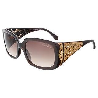 Roberto Cavalli RC804S 50F ALDEBARAN Dark Brown/Bronze Rectangle sunglasses