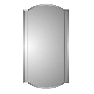"Zaca 44-2-30 Betelgeuse 30"" Beveled Twin Arch Double Mirror Medicine Cabinet"