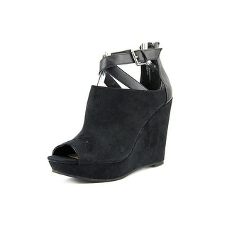 American Rag Romi Open Toe Synthetic Wedge Sandal