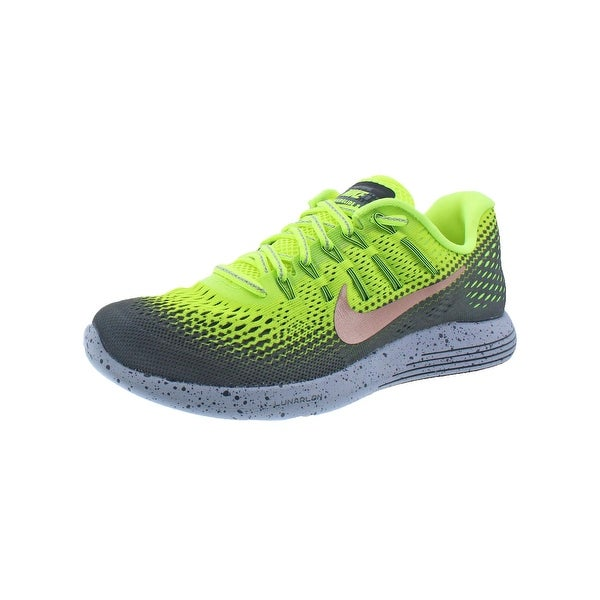 388655f1541ba Nike Mens Lunarglide 8 Shield Running Shoes H20 Repel Dynamic Support - 6  medium (d