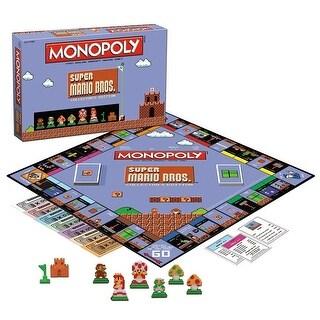 Super Mario Bros Monopoly Collector's Edition Board Game - multi