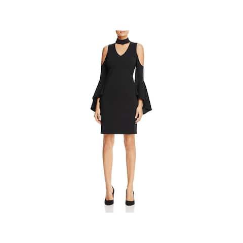 7d29d52c1f7 Vince Camuto Womens Party Dress Cold Shoulder Cut-Out