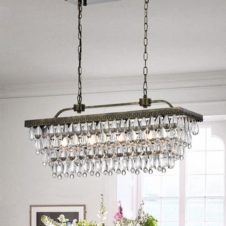 Link to Hemera 4-light Crystal Chandelier Similar Items in As Is