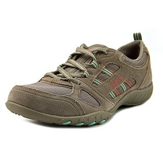 Skechers Breathe Easy-Good Luck Women Taupe Sneakers Shoes