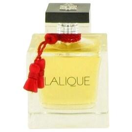 Eau De Parfum Spray (Tester) 3.3 oz Lalique Le Parfum by Lalique - Women