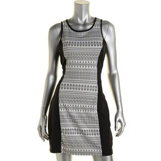 BCX Womens Juniors Ponte Stretch Party Dress - 5