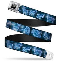 Harry Potter Logo Full Color Black White Harry Potter Animal Spirits Black Seatbelt Belt