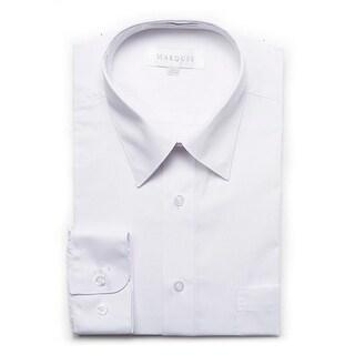 Marquis Men's Long Sleeve Regular Fit Dress Shirt