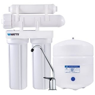 Watts PWRO4 4 Stage Reverse Osmosis System with 3 Gallon Storage Tank