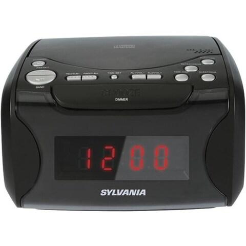 Sylvania Curscr4986 Sylvania Usb-Charging Cd Clock Radio
